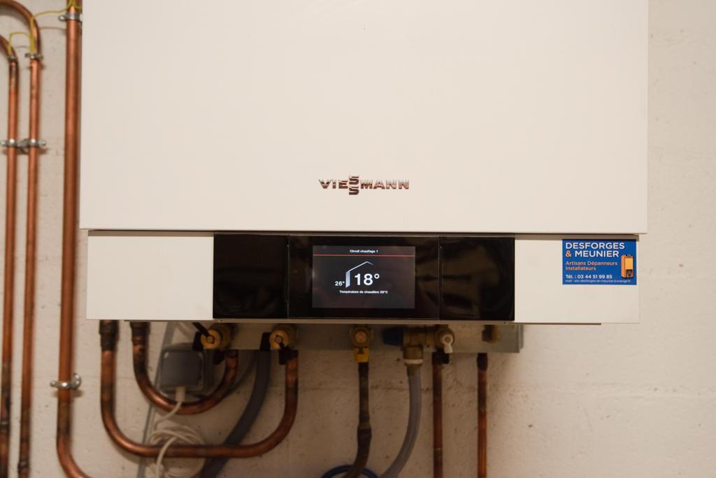 Remplacement de chaudière gaz ou fioul
