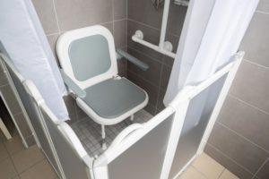 accessibilité salle de bains